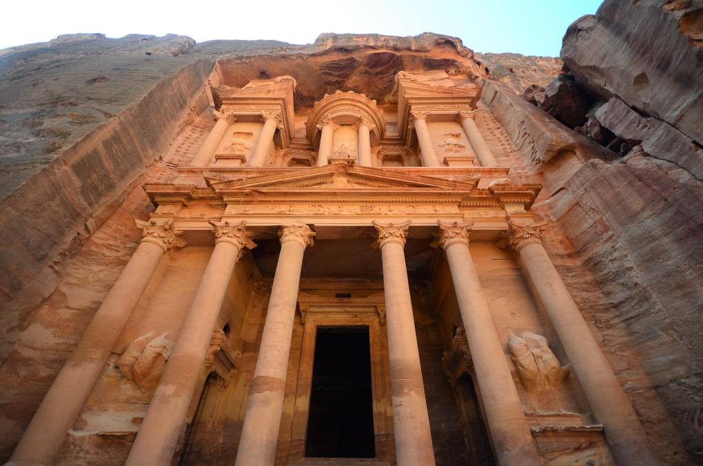 Аномальный город Петра, Иордания