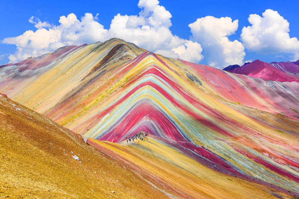 Природа разрисовала горы