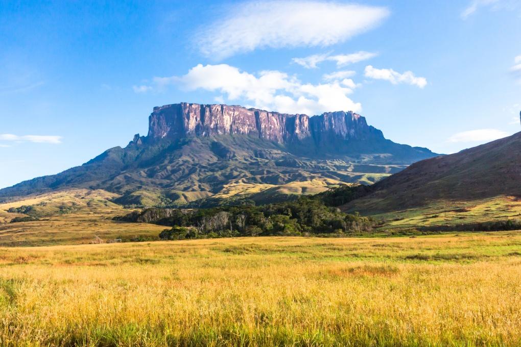 Затерянный мир: гора Рорайма на границе трех стран